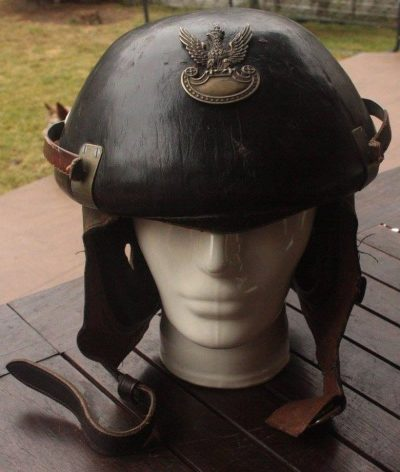 Танковый вариант шлема WZ.38.