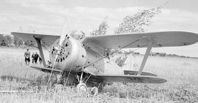 Истребитель И-153 «Чайка». 1940 г.