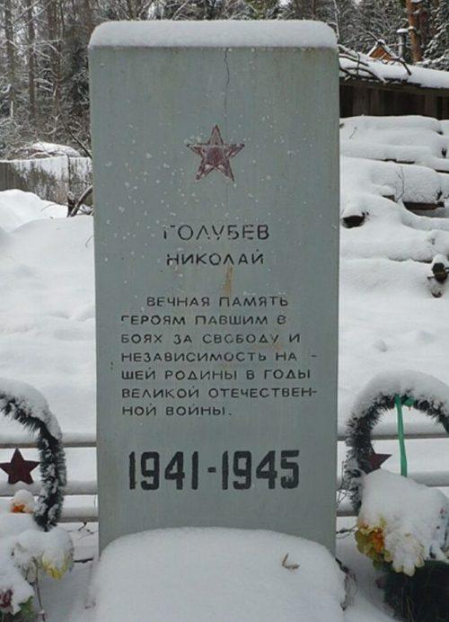 с. Сутоки Рамешковского р-на. Братская могила советских воинов.