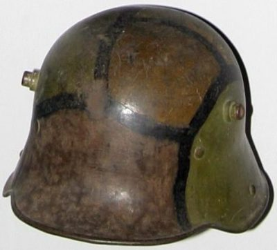 Stahlhelm - германская каска M1916.