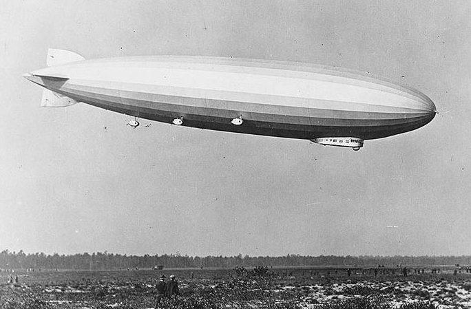 Цеппелин LZ 126. 1924 год.