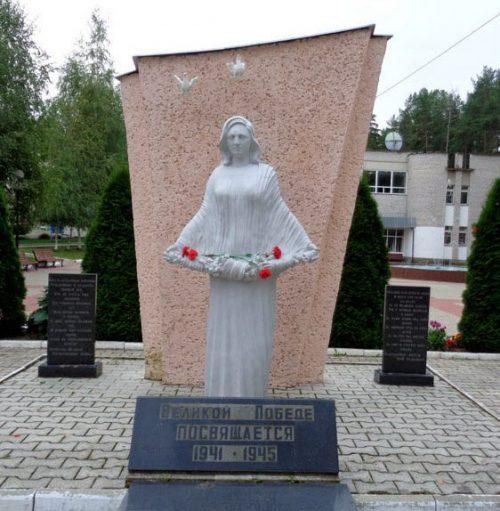 ЗАТО Солнечный. Памятник советским воинам.