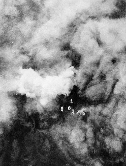 Бомбардировка Дуйсбурга. 14 октября 1944 г.