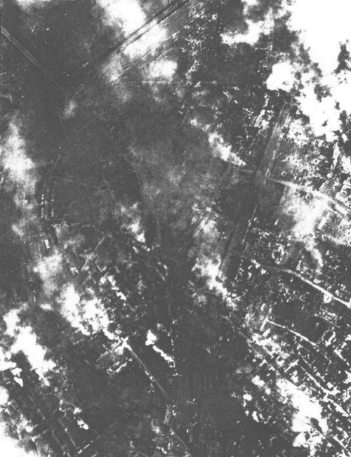 Дуйсбург в огне. 14 октября 1944 г.