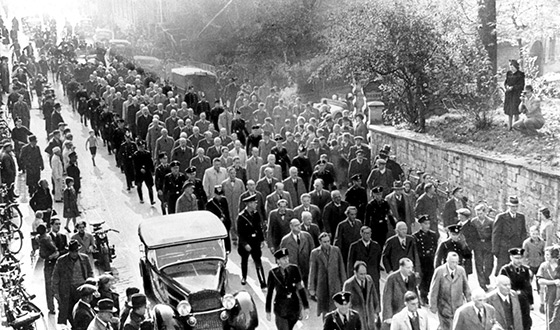Депортация евреев из Баден-Бадена в концлагерь Дахау.