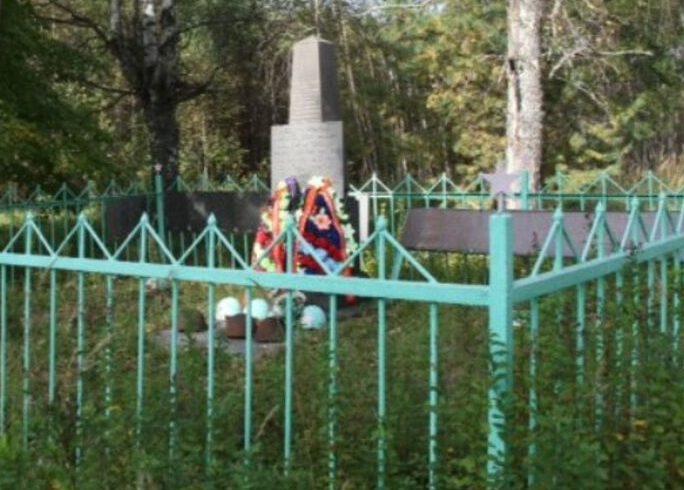 д. Волыново Ржевского р-на. Братская могила советских воинов.