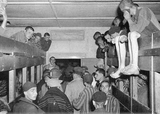 В пик нагрузки на 200 спальных мест в бараке приходилост 1600 узников.
