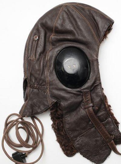 Зимний шлемофон образца 1940 г.
