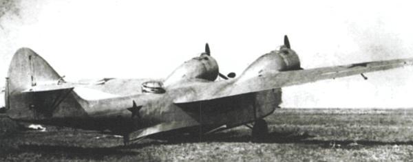 Гидросамолет МДР-6 на суше. 1940 г.