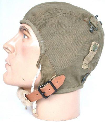Брезентовый летний шлем А-8 образца 1933 года.