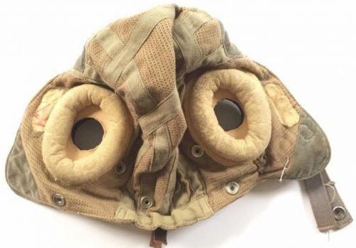 Летний шлемофон типа Е образца 1945 года, изготовленный из ткани «Airtex».