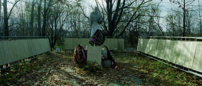 с. Ефимово Ржевского р-на. Братская могила советских воинов.