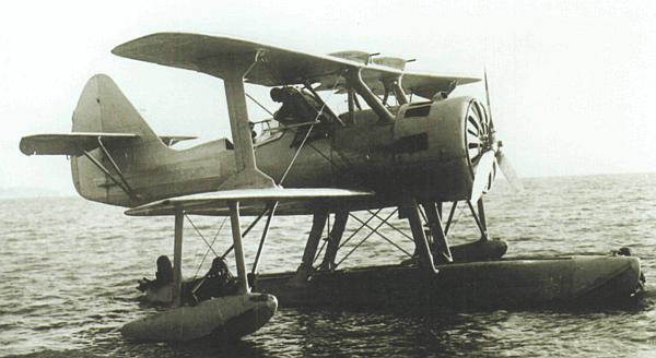 Корабельный катапультный разведчик КОР-1. 1940 г.