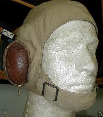 Брезентовый летний шлемофон.