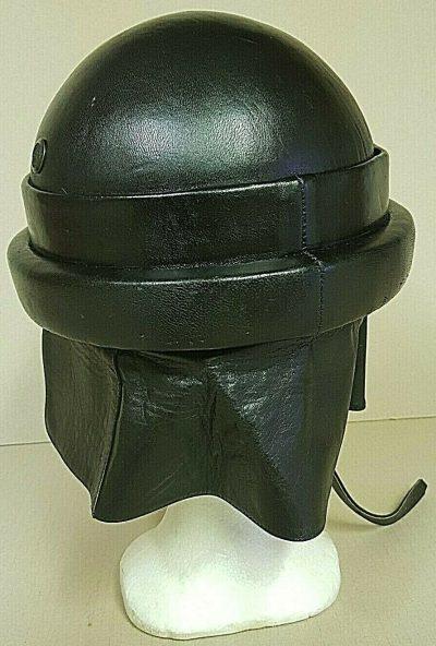 Кожаный шлем мотоциклистов, парашютистов и танкистов М35.