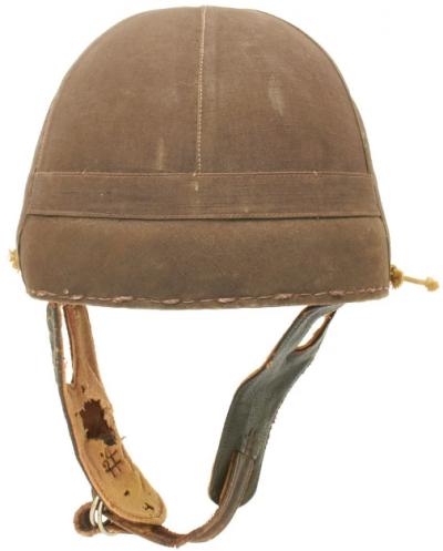 Летний танковый шлем.