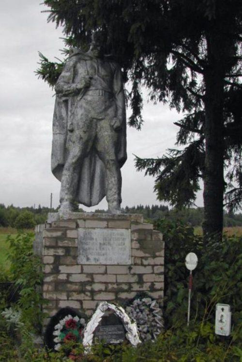 д. Баканово Старицкого р-на. Братская могила советских воинов.