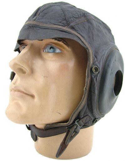 Кожаный шлемофон AN-H-11 для пилотов бомбардировщиков и истребителей.