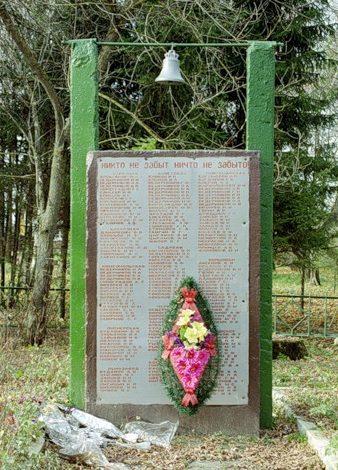 Колокол на мемориале.