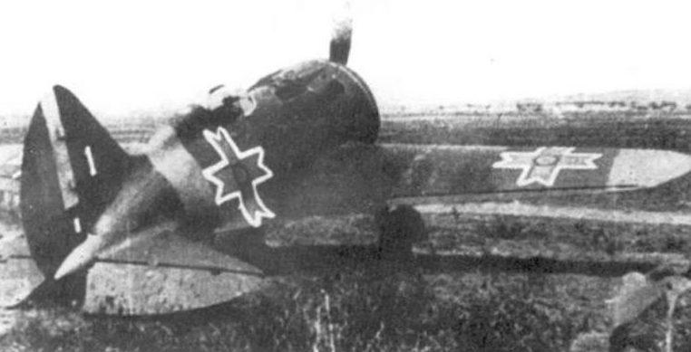 Истребитель И-16 на службе у румынов. 1941 г.