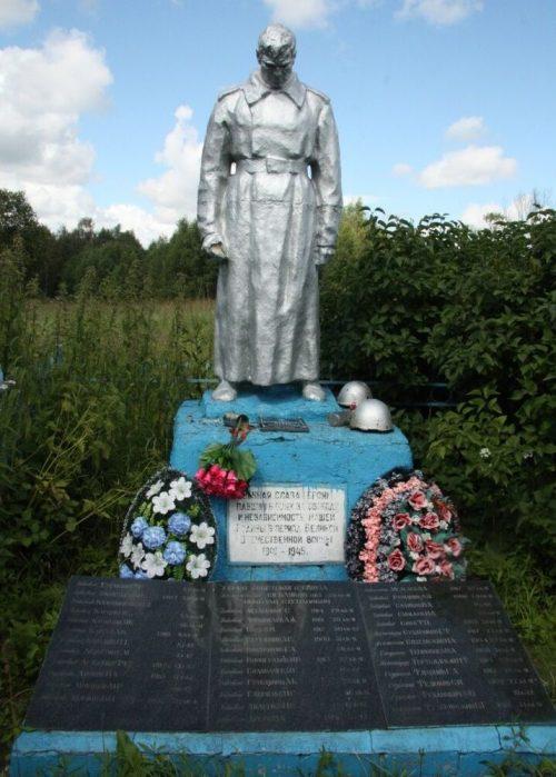 п. Кобелево-2 Старицкого р-на. Братская могила советских воинов.