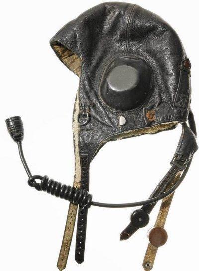 Шлемофоны летние из кожи.