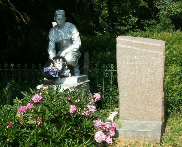 д. Панофидино Старицкого р-на. Братская могила советских воинов.
