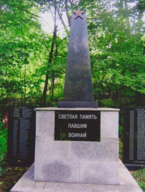 д. Дрогачево Нелидовского городского округа. Братская могила советских воинов.