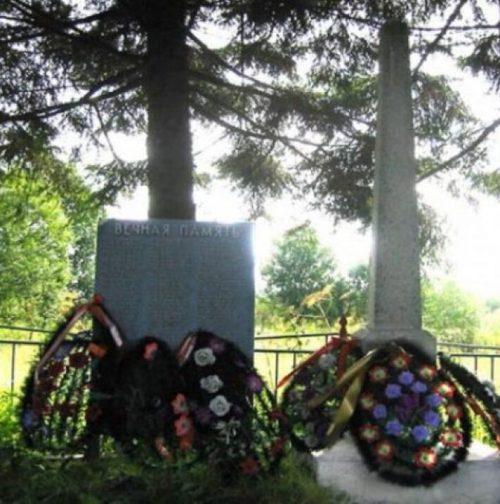 д. Железница Нелидовского городского округа. Братская могила советских воинов.