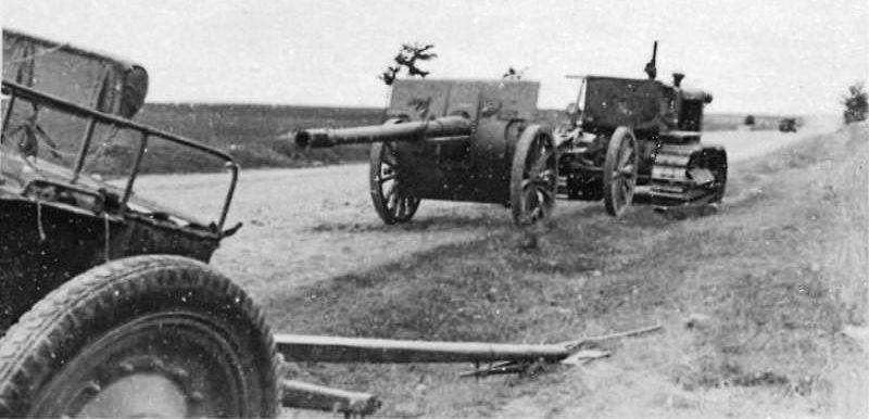 107-мм полевая пушка образца 1910/30 года. 1941 г.