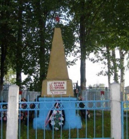 д. Морозово Нелидовского городского округа. Братская могила советских воинов.