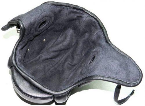 Шлемофон образца 1936 года из кожи.