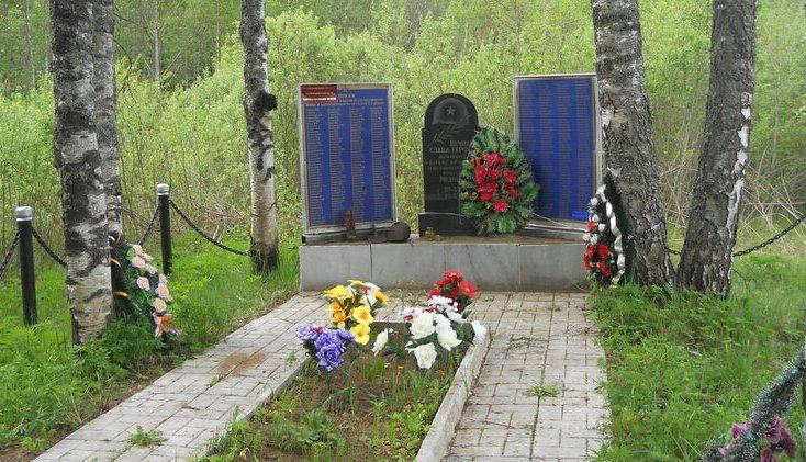 д. Яблонька Нелидовского городского округа. Братская могила советских воинов.