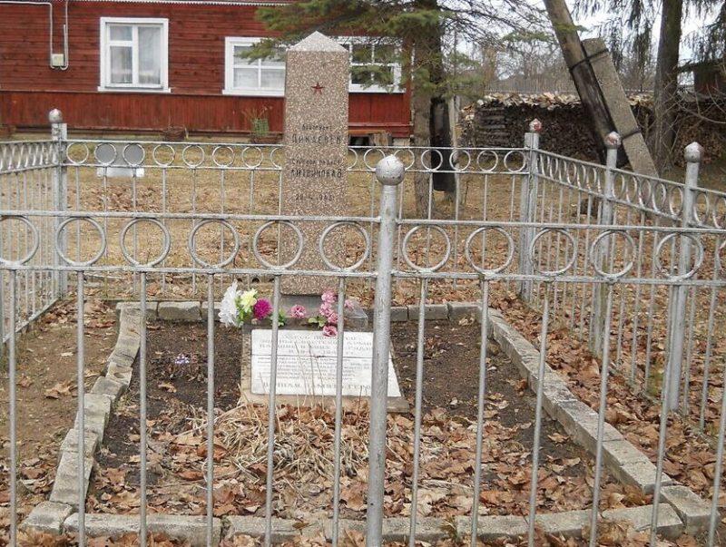 д. Рудниково Торжокского р-на. Братская могила советских воинов, павших в годы войны.