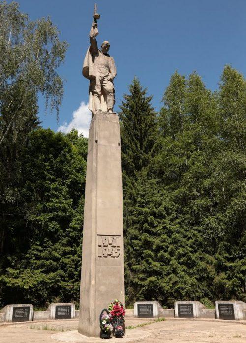 п. Славный Торжокского р-на. Мемориал советским воинам.