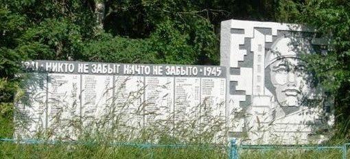 д. Верескуново Удомельского городского округа. Памятник советским воинам.