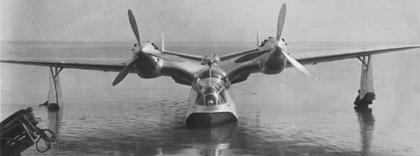 Гидросамолет МДР-6 (Че-2). 1943 г.
