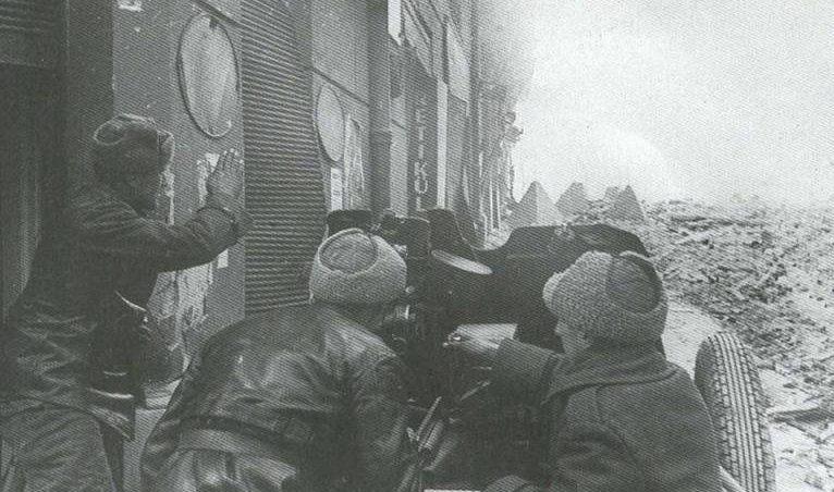 76-мм полковая пушка образца 1943 года (ОБ-25). 1944 г.