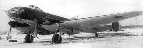 Дальний бомбардировщик Ермолаева Ер-2 (ДБ-240). 1943 г.