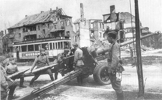 100-мм полевая пушка БС-3. 1944 г.