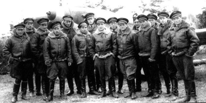 Французские летчики из эскадрильи «Нормандия-Неман».