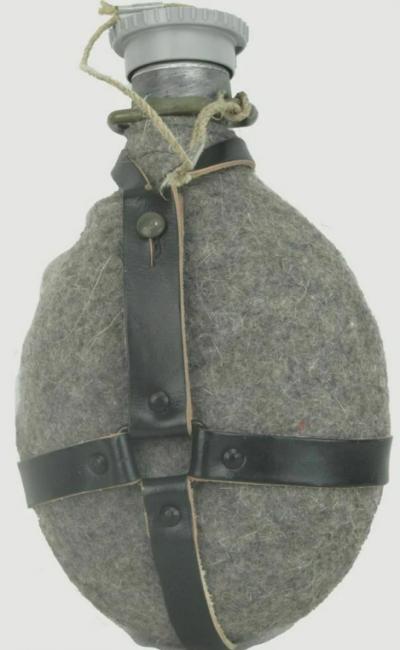 Армейская алюминиевая фляга.