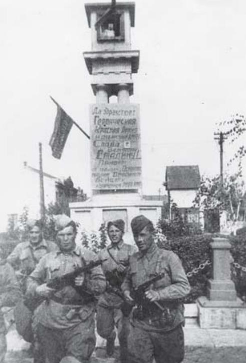 Воины-десантники 384 отдельного батальона морской пехоты.
