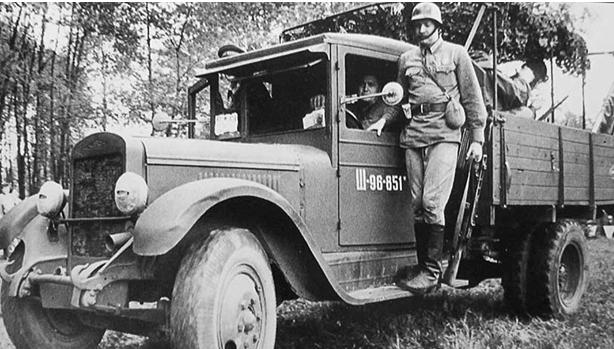 Полноприводный ЗиС-32. 1941 г.