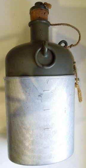 Алюминиевая армейская фляга М32.