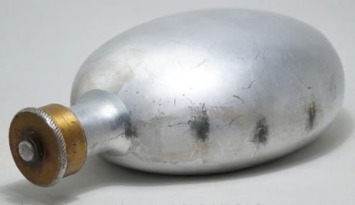 Полевая алюминиевая фляга образца 1931 года.