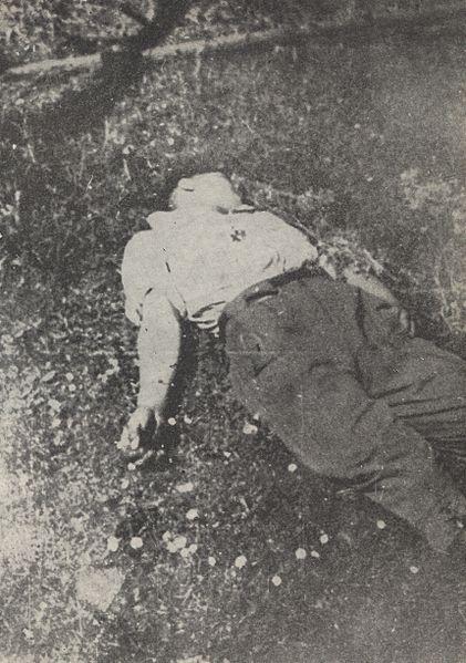 Жертвы резни в селе Сочи.