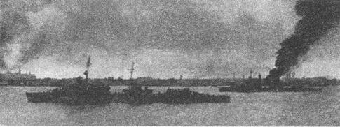 Советские корабли оставляют Таллин.