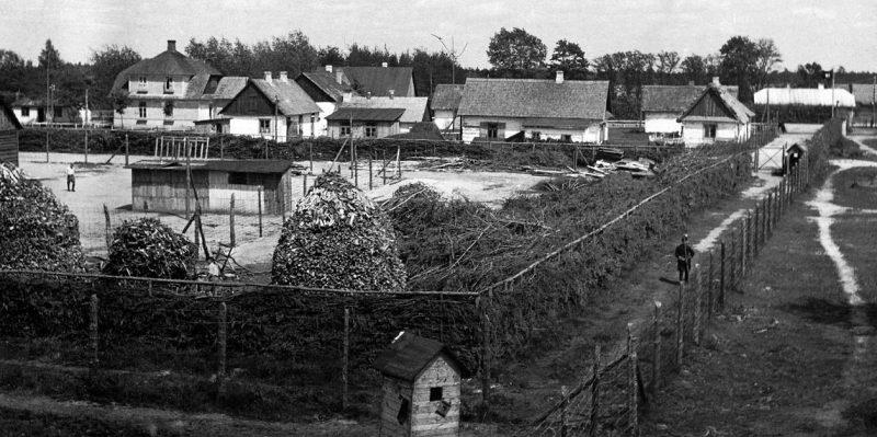 Фрагмент лагеря «Собибор». Лето 1943 г.