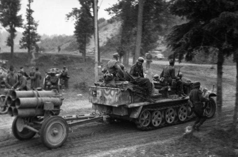 Отступление немцев из-под Орши.